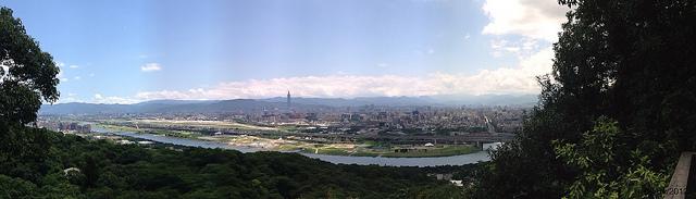 Hiking en Yuanshan (圓山)