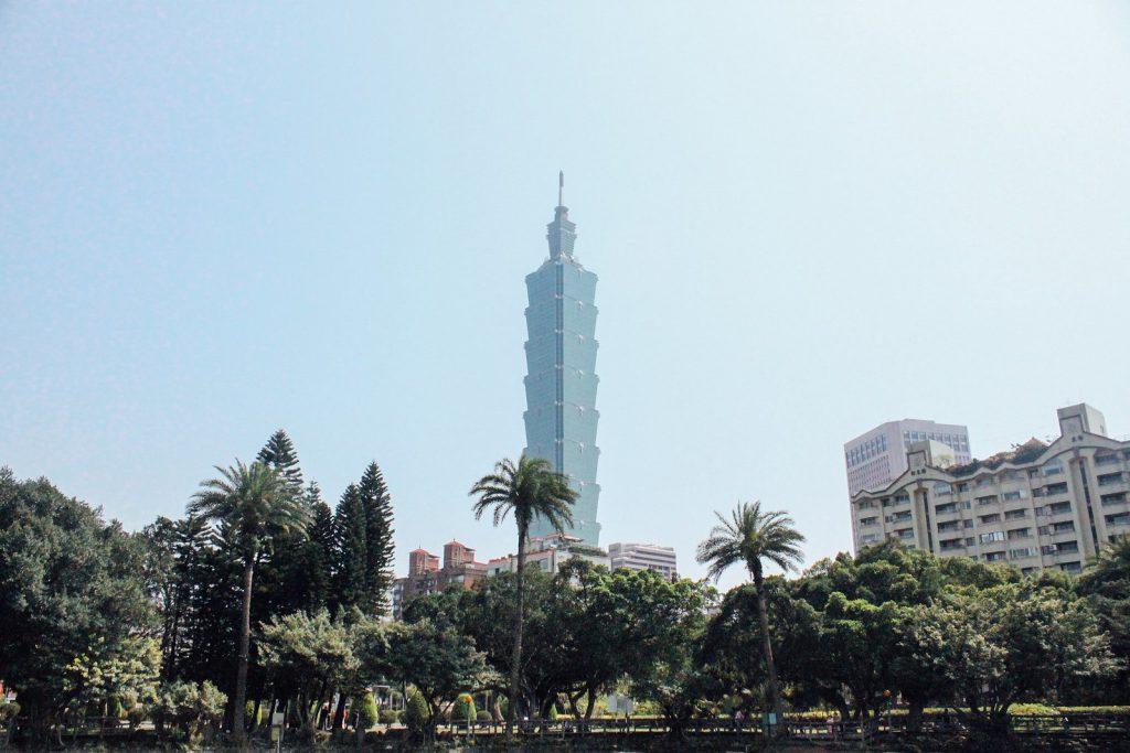 Taipei 101 keelung